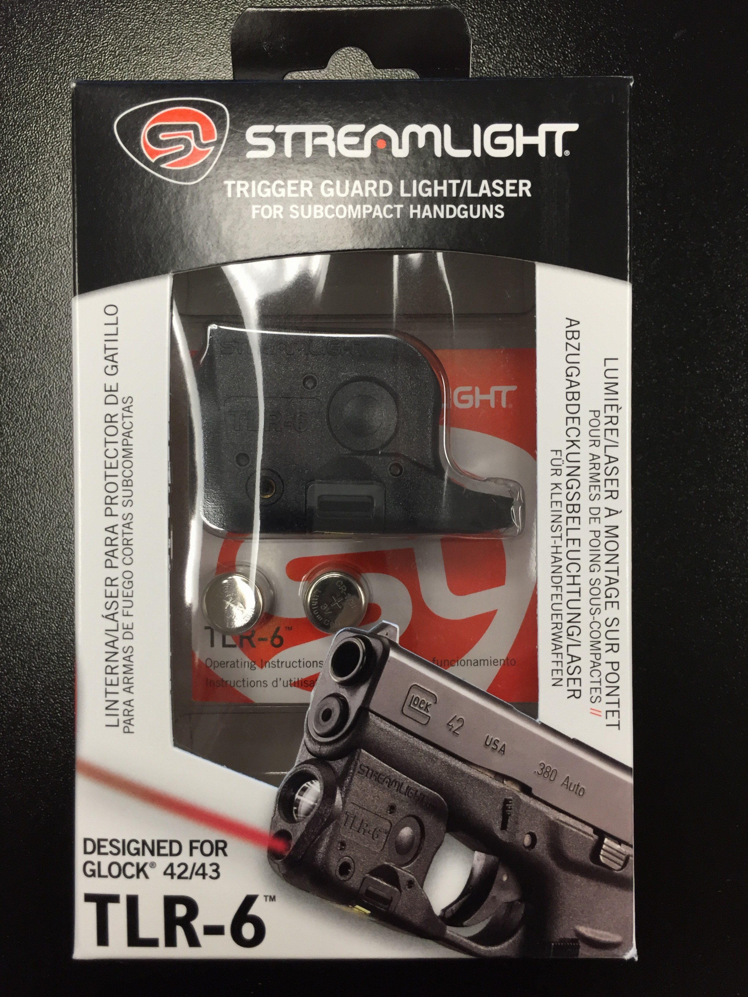 Streamlight Tlr 6 Micro Laser Light Combo For G42 43 Saddle Rock