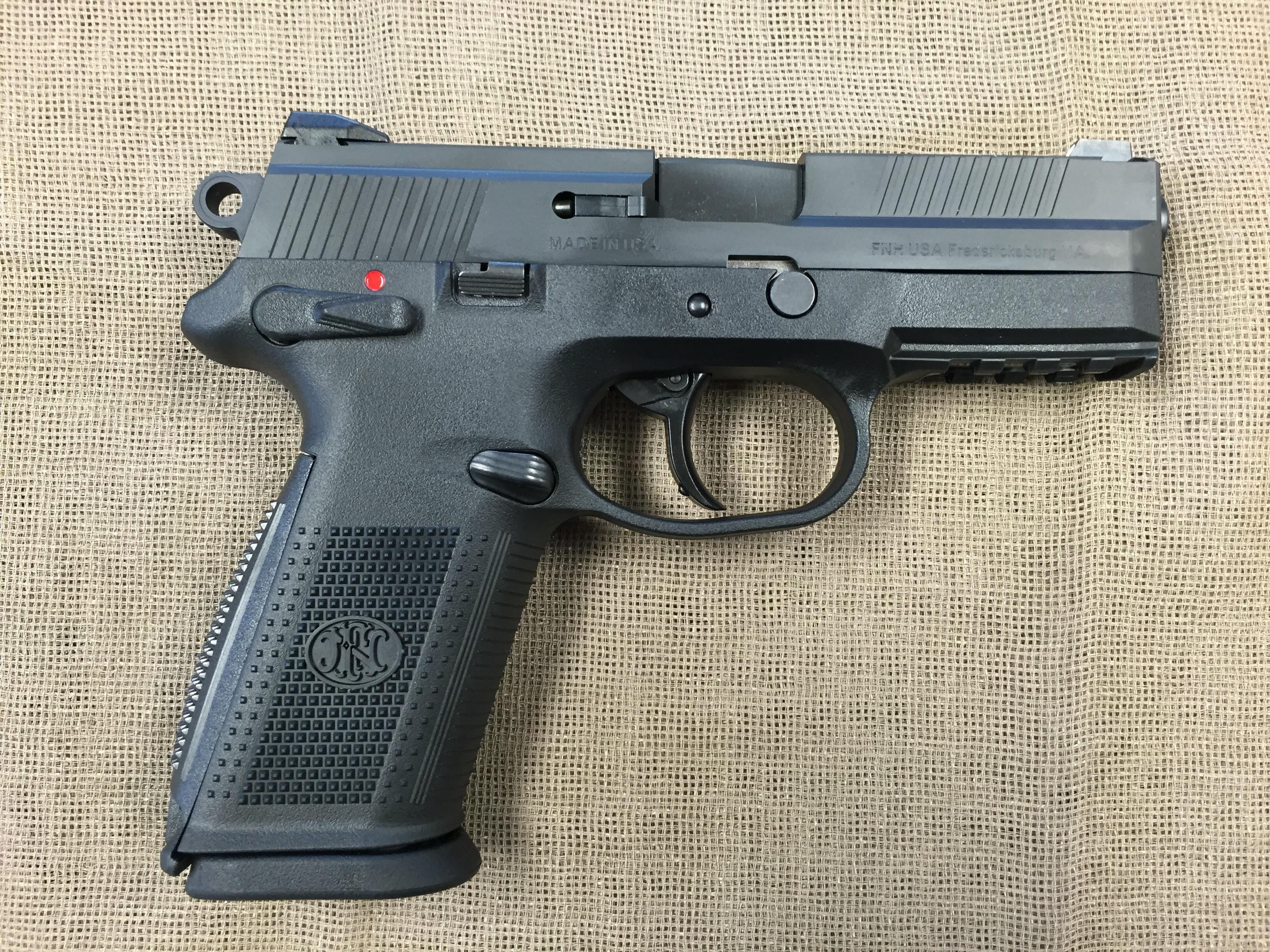 Fn Fnx 9 9mm Service Da Sa 4 Bbl Saddle Rock Armory