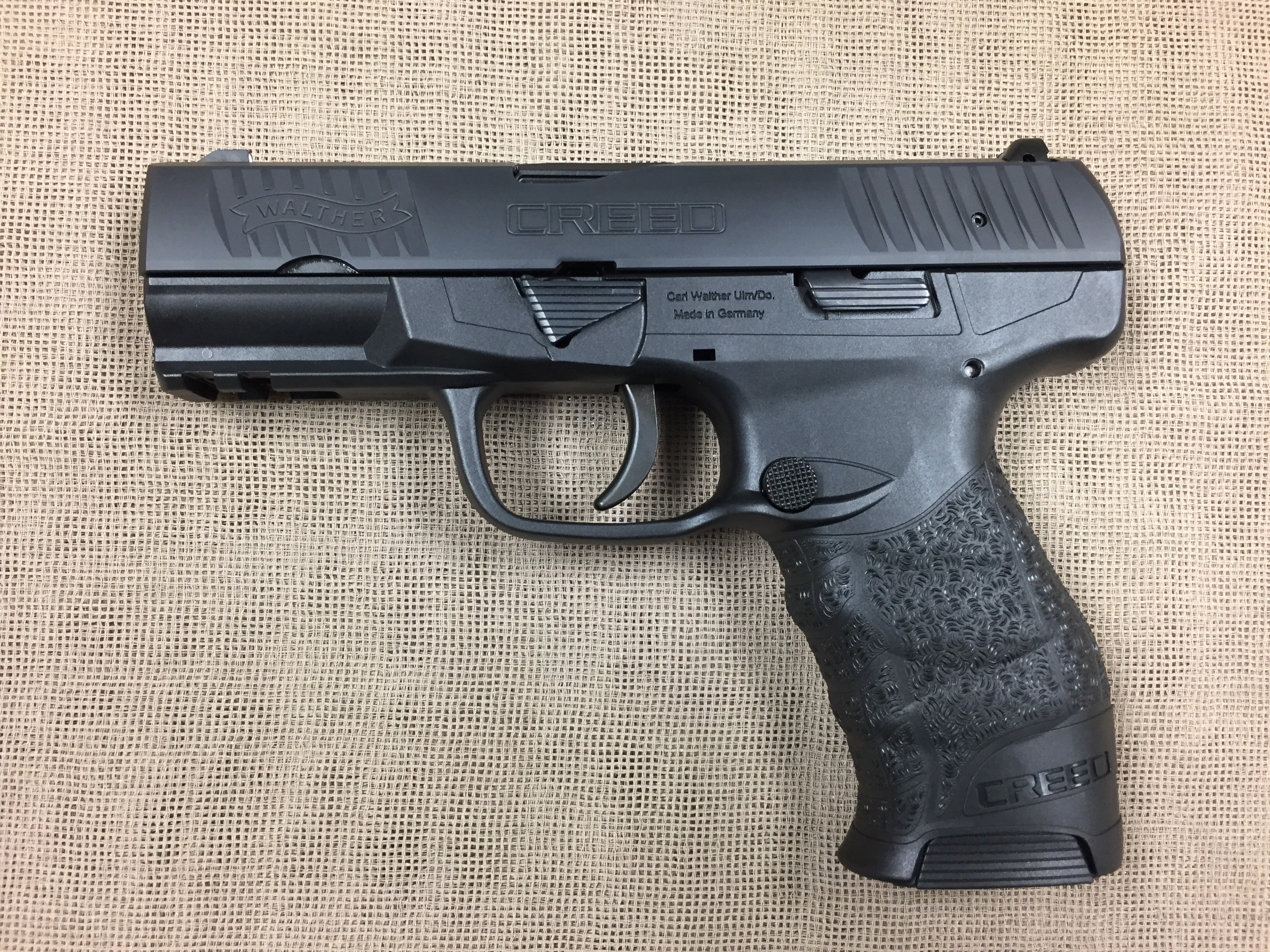 Walther CREED 9mm semi auto 16+1 capacity