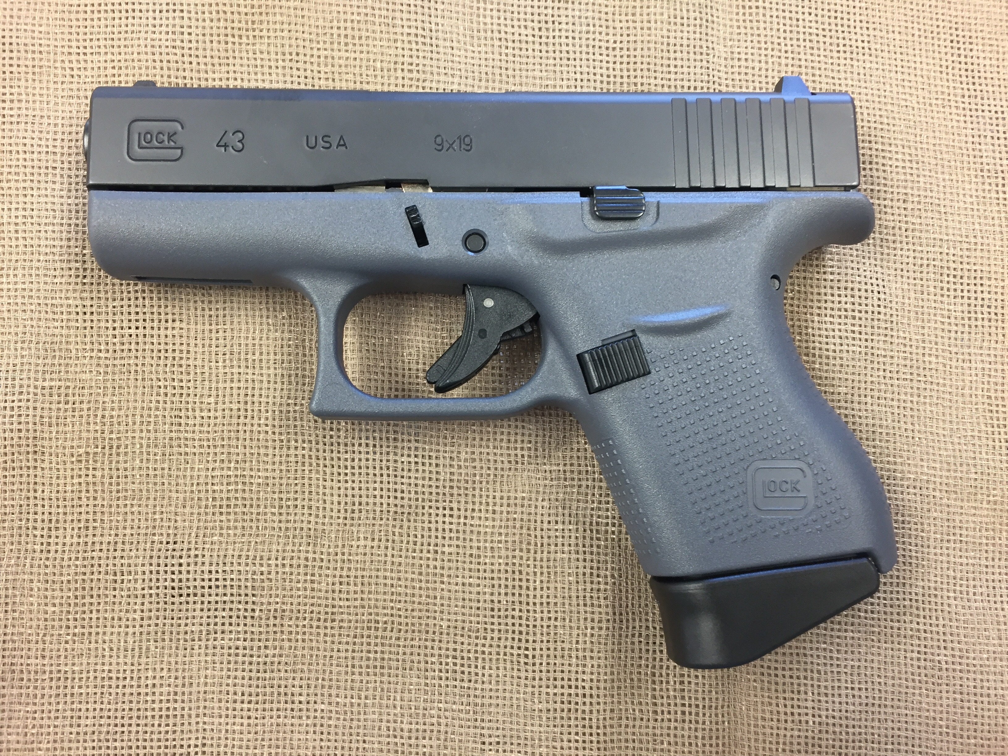 Glock 43 9mm subcompact gray frame – Saddle Rock Armory