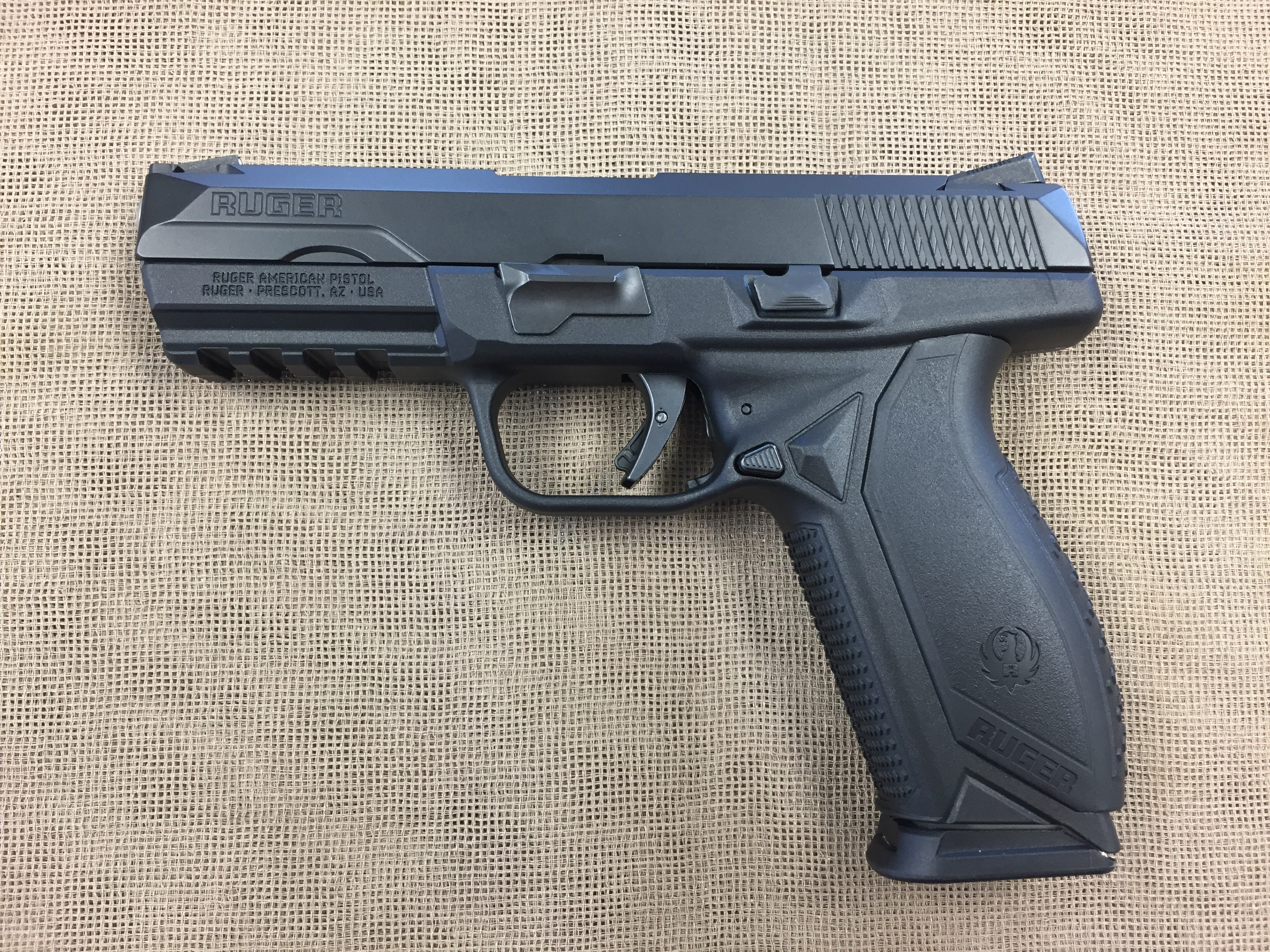 ruger american pistol 9mm auto saddle rock armory