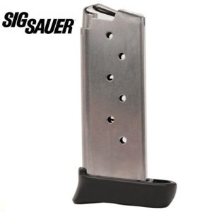 Sig-Sauer-Magazine-fits-SIG-P938-9mm-Luger-7-Rounds-Extended-Grip-Stainless-Steel