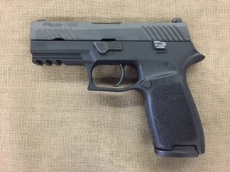Sig Sauer P320 M17 Coyote finish 9mm auto 17+1 night sight US Army
