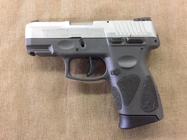 Taurus G2C Grey 9mm compact 12+1 capacity