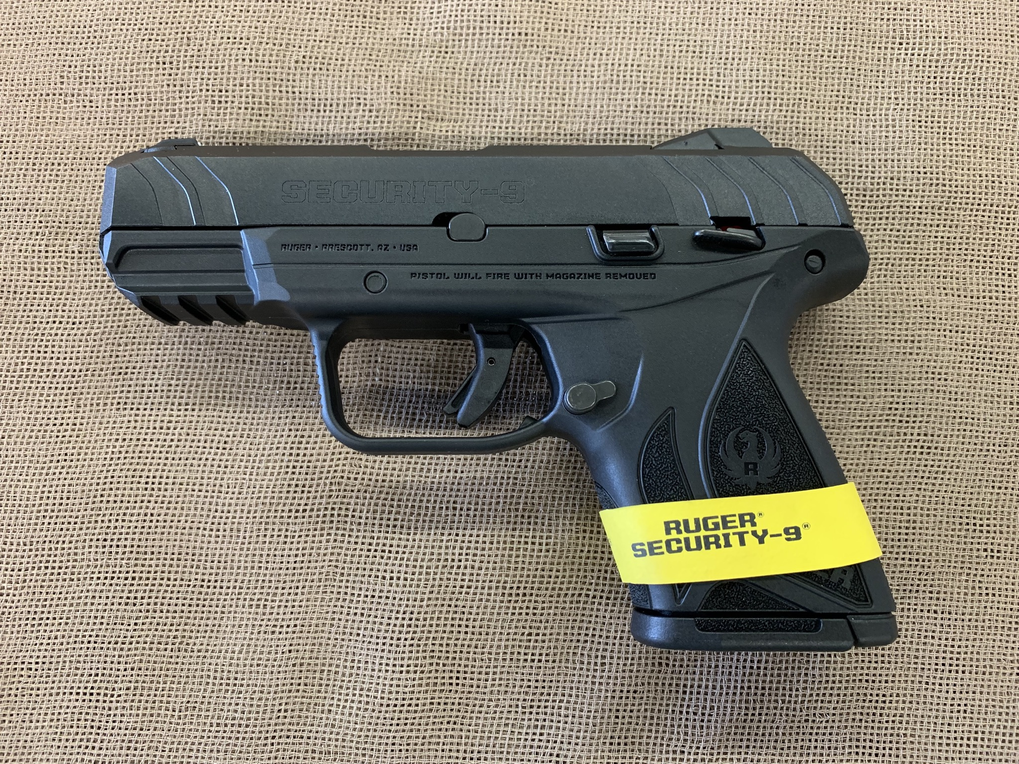 Ruger Security-9 compact 9mm 10+1 capacity